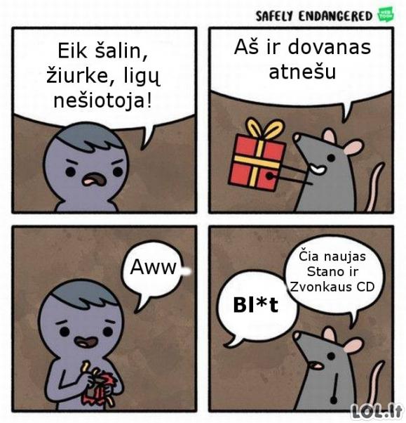 Žiurkė dovanotoja