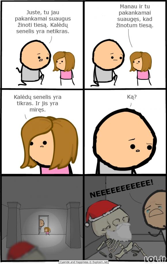 Visa tiesa apie Kalėdų Senelį
