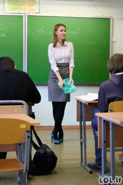 Karštos mokytojos iš Rusijos mokyklų