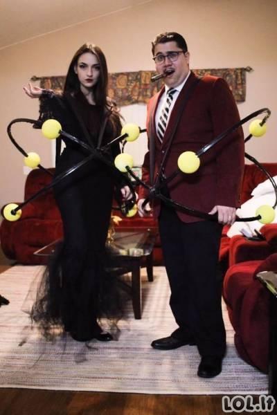 Afigėni Helovyno kostiumai