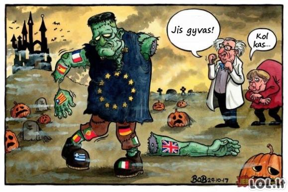 Ką primena Europos Sąjunga