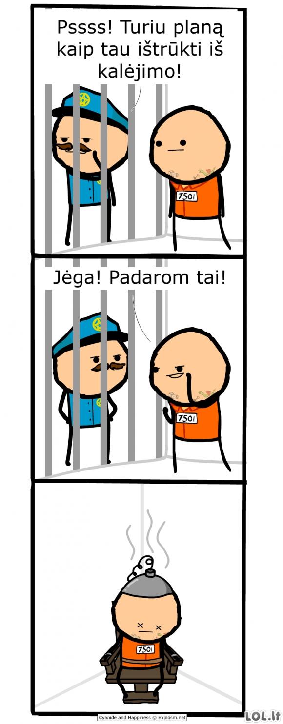 Ištrūkimas iš kalėjimo