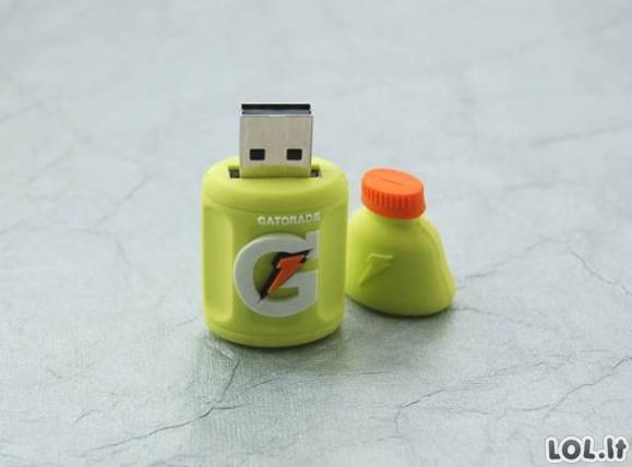 Kiečiausi USB atmintukai