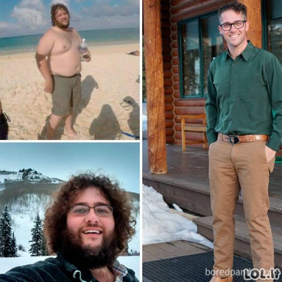 Epiškiausi svorio numetimai