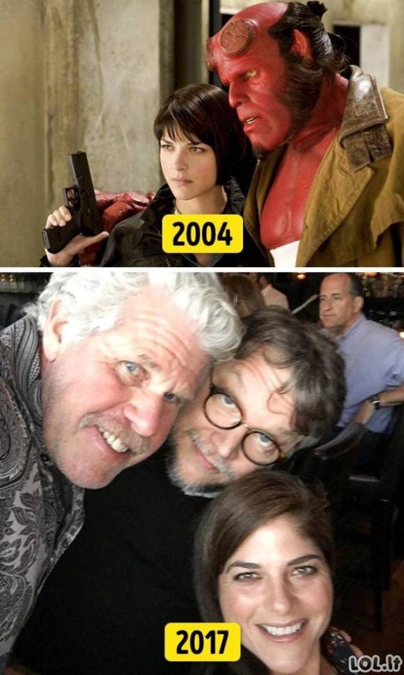 Kai aktoriai vėl susitinka...