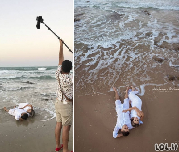 """Kaip sukuriamos """"tobulos"""" nuotraukos"""