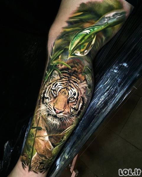 Ne tatuiruotės, o tikri meno kūriniai