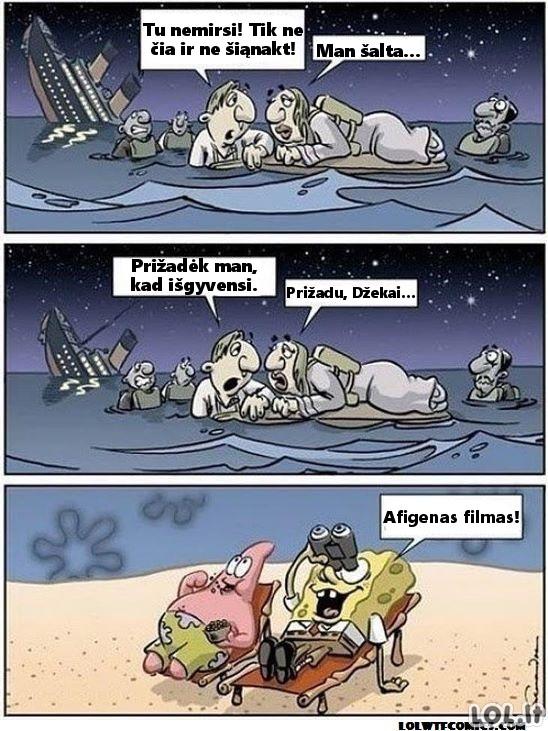 Titanikas iš kitos perspektyvos