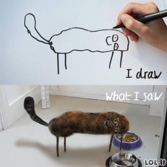 Jeigu vaikų piešiniai taptų realybe [GALERIJA]