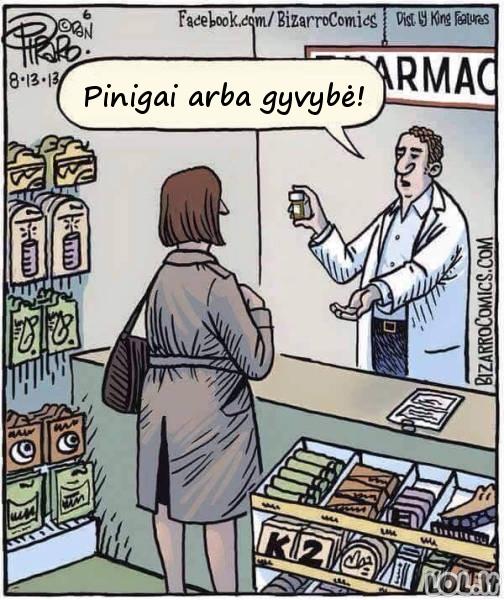 Šiandieninė situacija vaistinėse