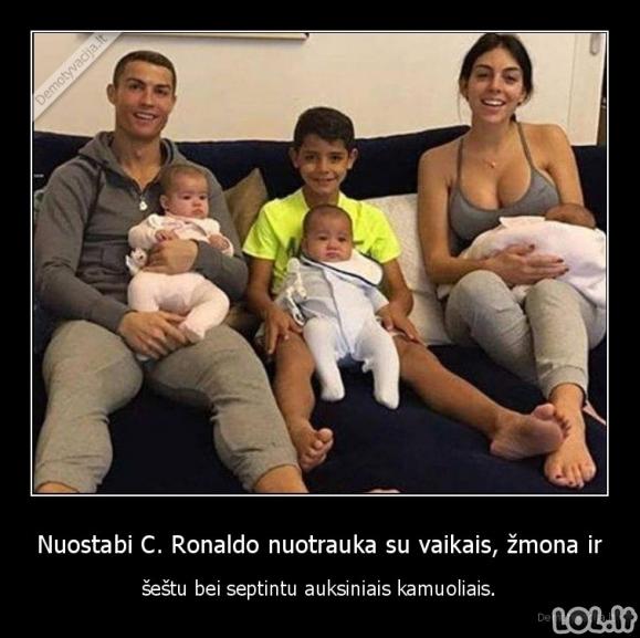 Gera Ronaldo nuotrauka