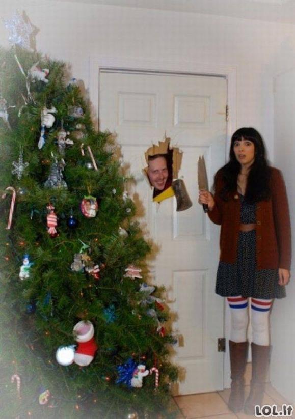 Idealių Kalėdinių atvirukų rinkinys