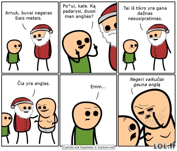 Negeras Arnukas ir jo Kalėdų dovana