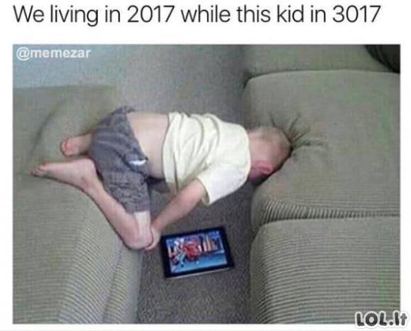 Žmonės, gyvenantys ateityje