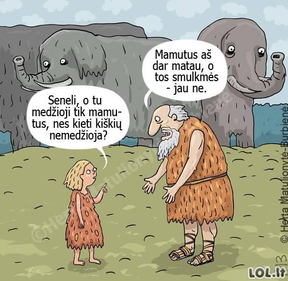 Mamutų medžioklė