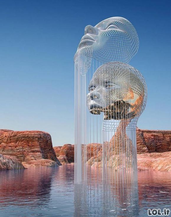 Skulptūros, kurios atrodo tiesiog neįtikėtinai