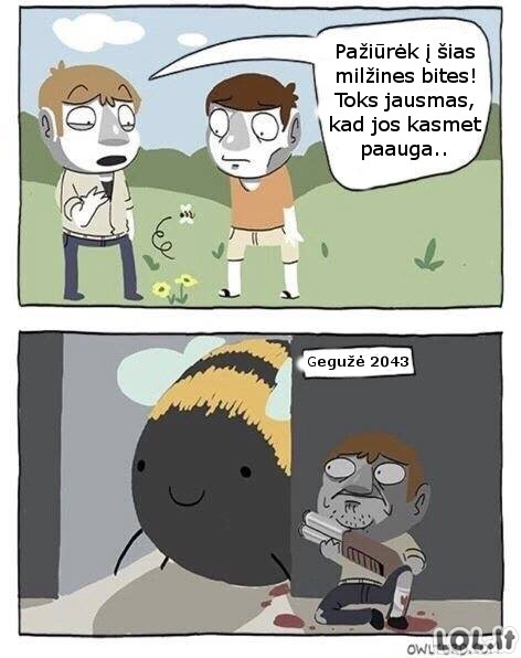 Bitės ateityje