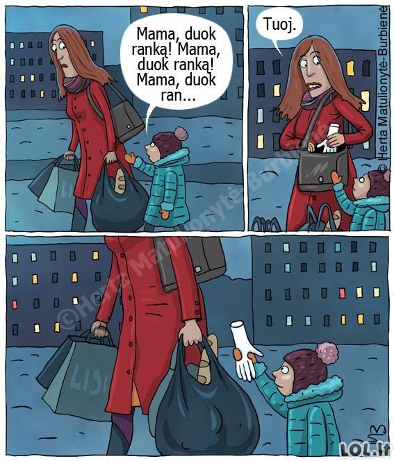 Šiuolaikinė mama