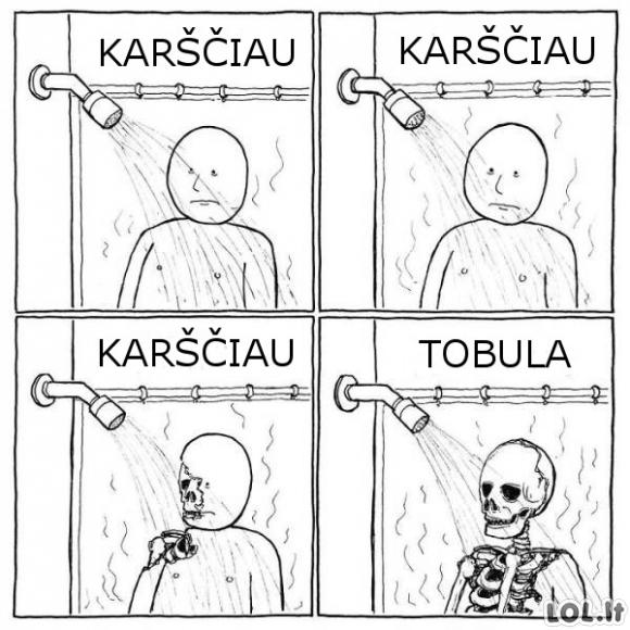 Žiemiškas dušas