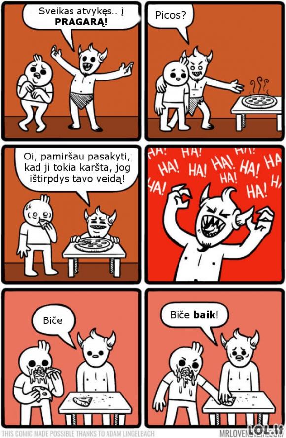 Velniška pica