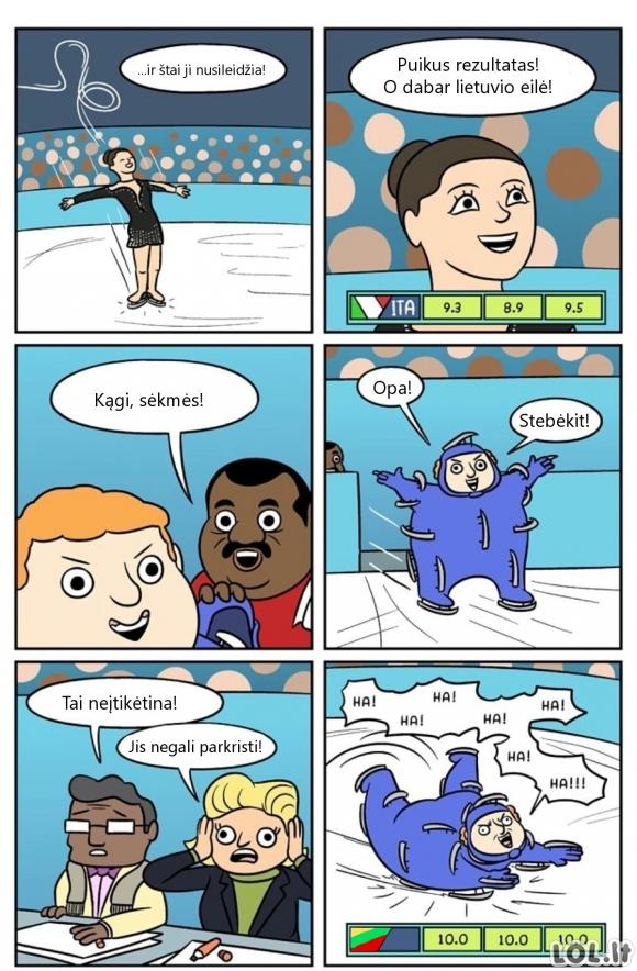 Kaip Lietuvai laimėti auksą žiemos olimpinėse žaidynėse