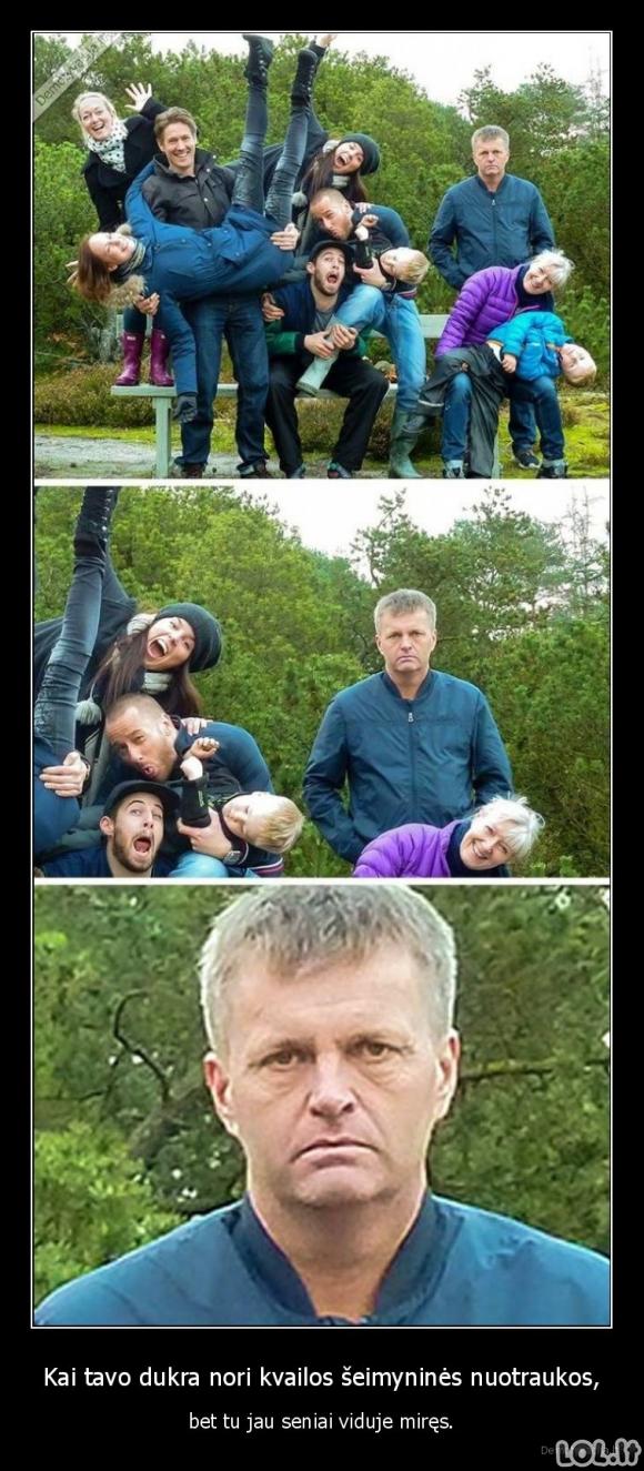 Kvaila šeimos nuotrauka