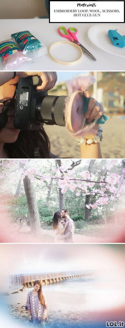 Kaip padaryti nuotraukas kaip profai?