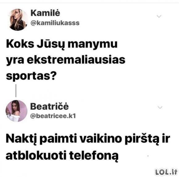 Moteriškas sportas