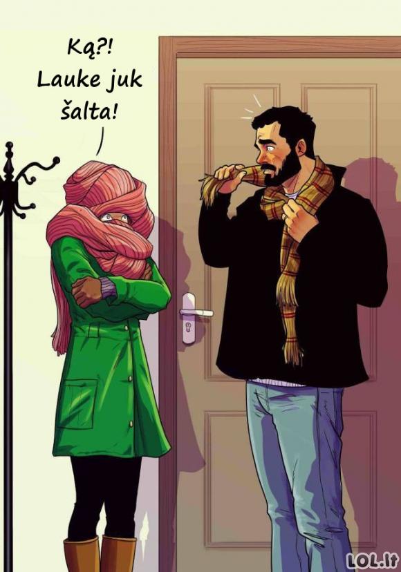 Poros santykiai šmaikščiose iliustracijose [GALERIJA]