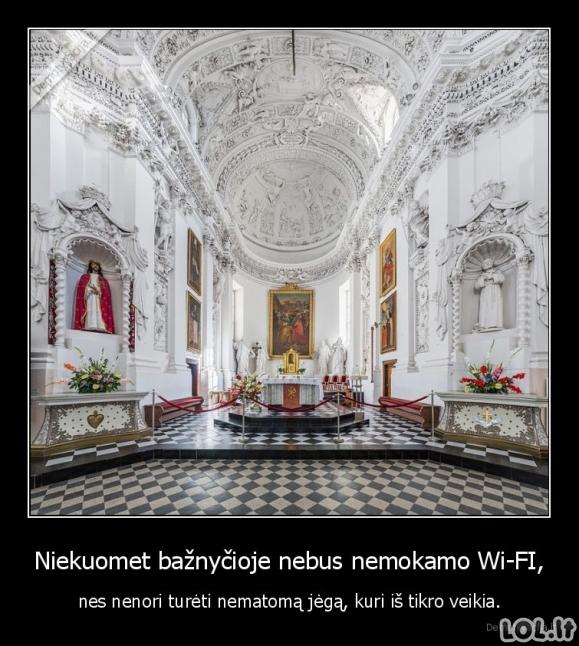 Wi-Fi bažnyčiose