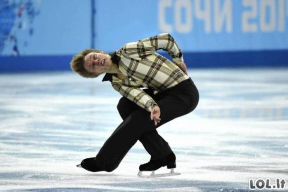 Įrodymas, kad dailusis čiuožimas nėra dailus [31 FOTO]