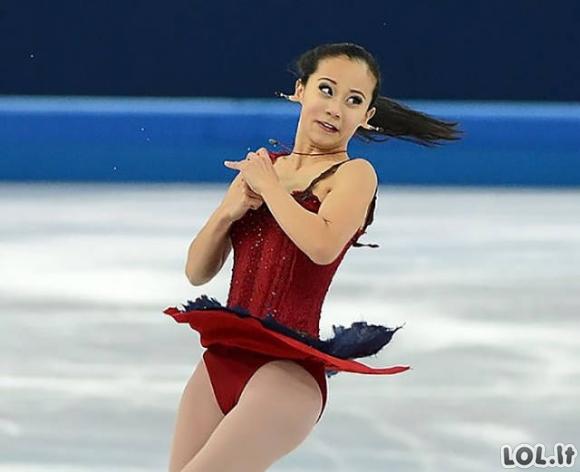 Įrodymas, kad dailusis čiuožimas nėra jau toks ir dailus [GALERIJA]