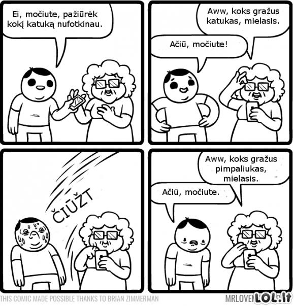 Išmani močiutė