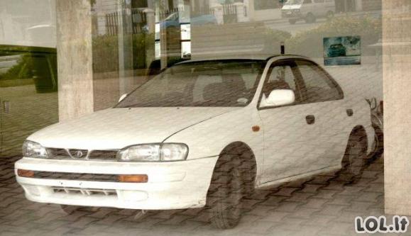 Neįtikėtina Subaru parduotuvė Maltoje
