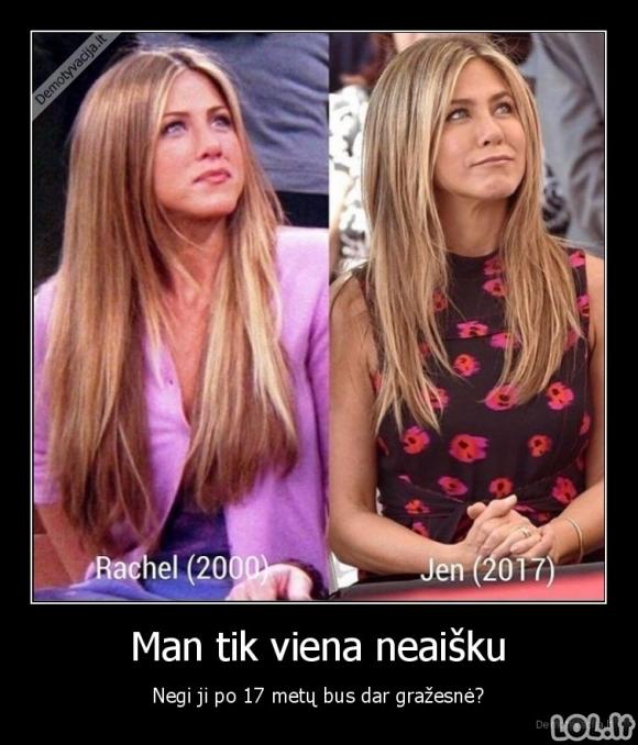 Jenifer Aniston magija