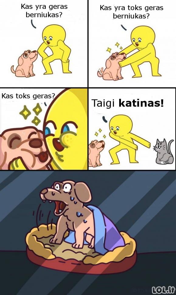 Didžiausias šuns košmaras