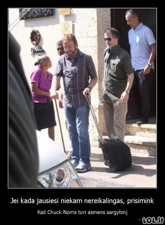 Chuck Norriso apsauginis