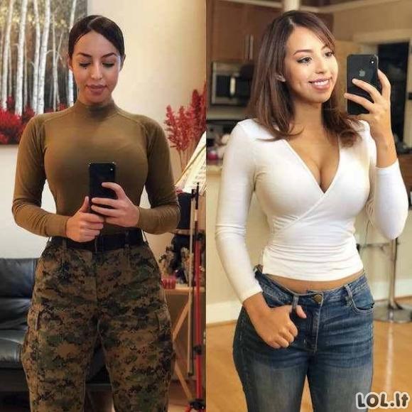 Kas slepiasi, po jų uniformomis? [17 FOTO]