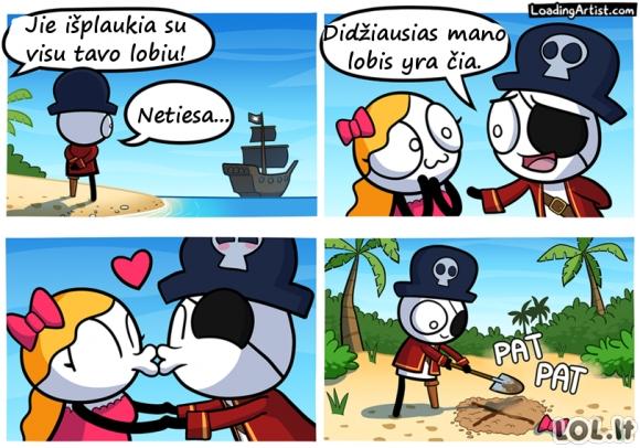 Didžiausias pirato lobis