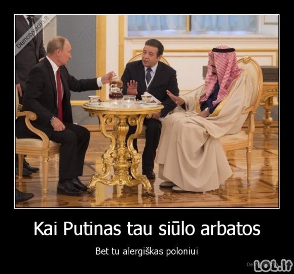 Putino arbatėlė