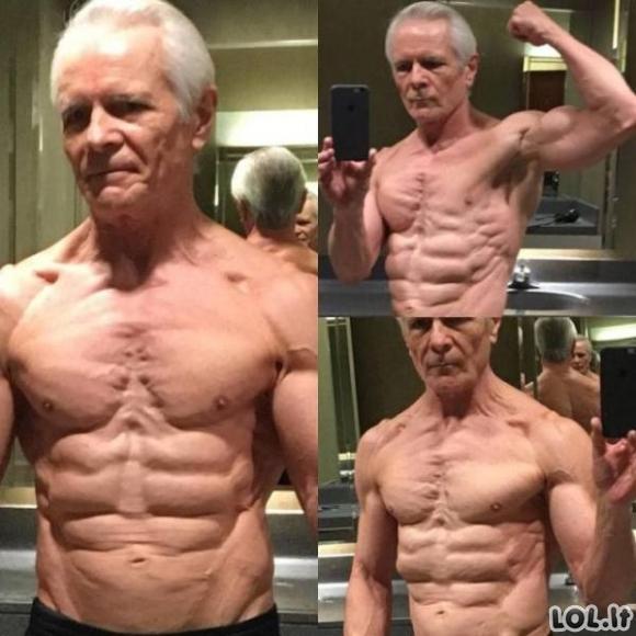Ko gero karščiausias senelis pasaulyje