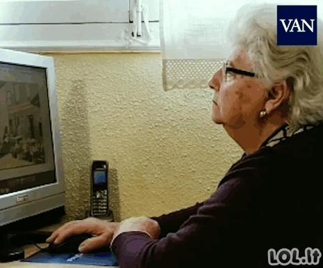 87-erių močiutė su Paint'u piešia neįtikėtinus piešinius