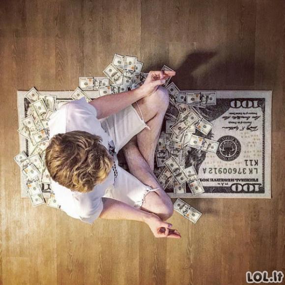 Turtingų tėvų vaikelių gyvenimas Instagrame [16 FOTO]