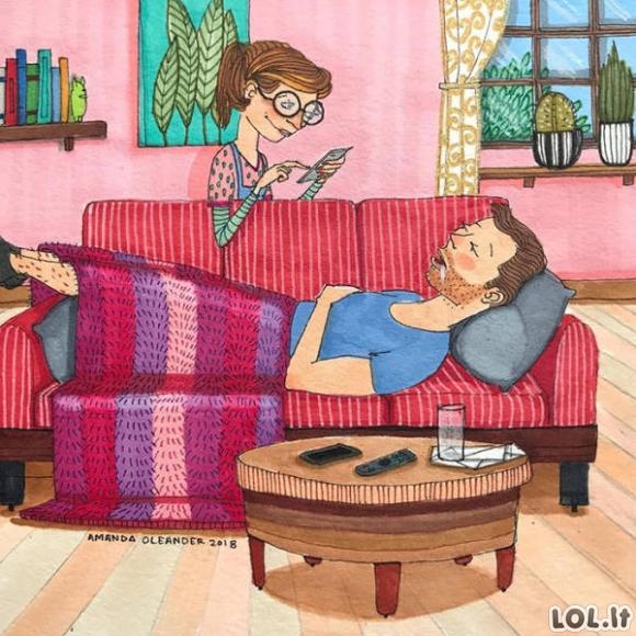 Gyvenimas ilgalaikiuose santykiuose [45 FOTO]