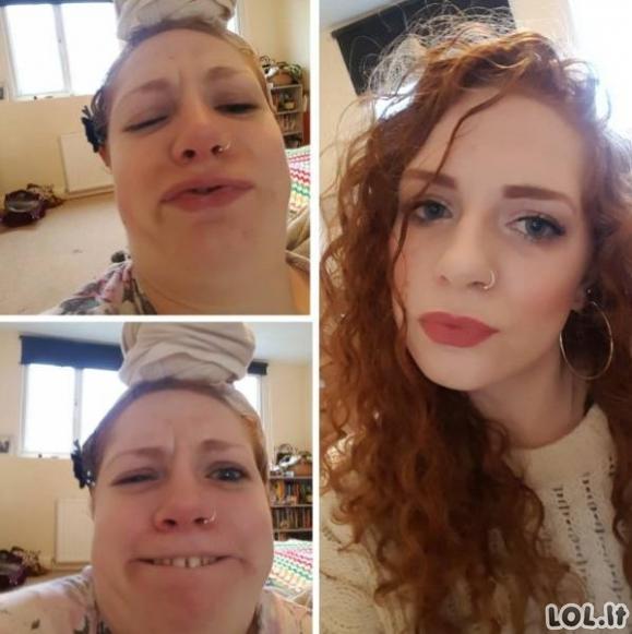 Du merginų veidai [32 FOTO]