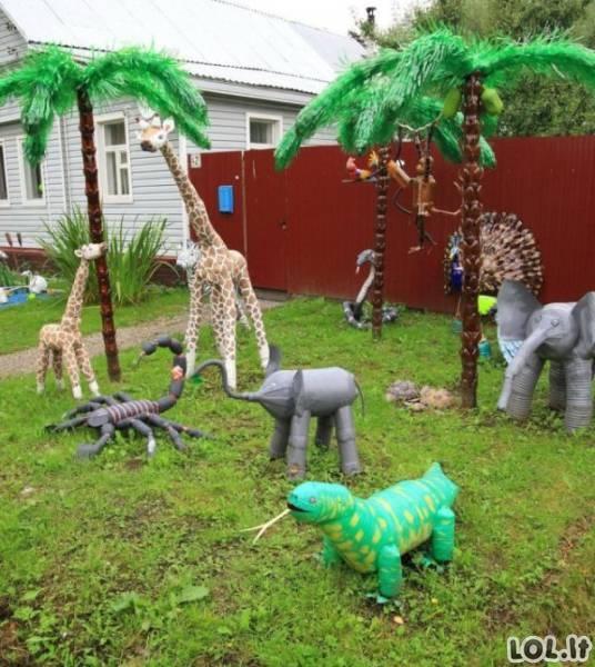 Beprotiškiausios vaikų žaidimų aikštelės Rusijoje [35 FOTO]