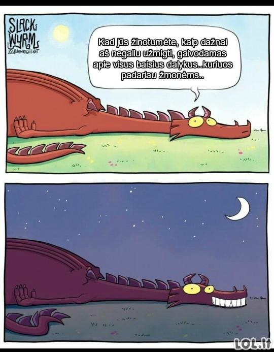 Drakonų problemos