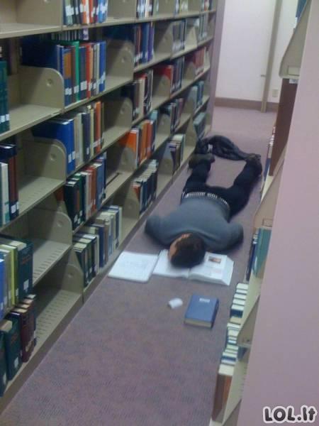 Akimirkos iš studentų gyvenimo