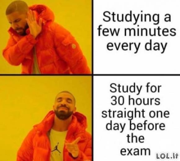 Kaip gyvena studentai [GALERIJA]