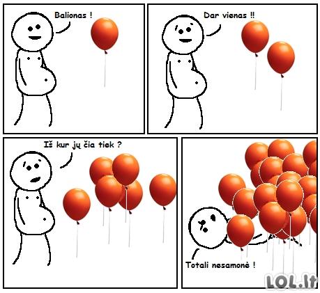 Iš kur tie balionai?